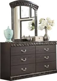 Vachel -Dresser - Dark Brown