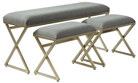 Emanita Accent Bench Set of 3