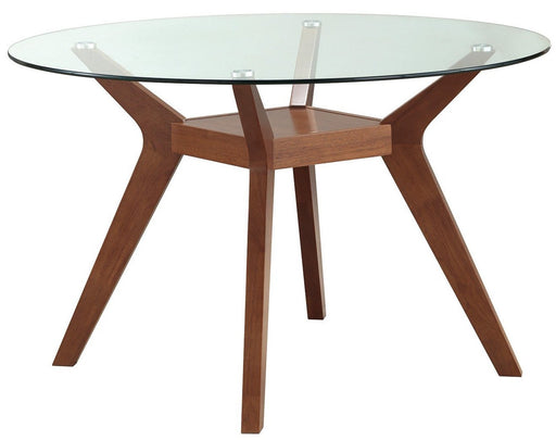 Paxton Round Dining Table - Nutmeg