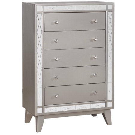 Leighton - Chest - Metallic Mercury