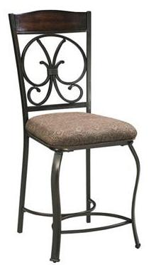 Glambrey Upholstered Bar Stool