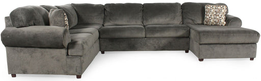 Jessa Place Sectional w/ Chaise in 3 Colors
