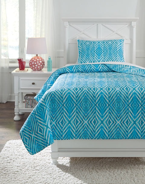 Jolana Quilt Set - Twin