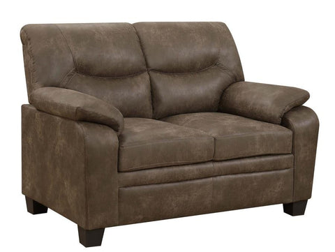 Meagan Loveseat - Brown