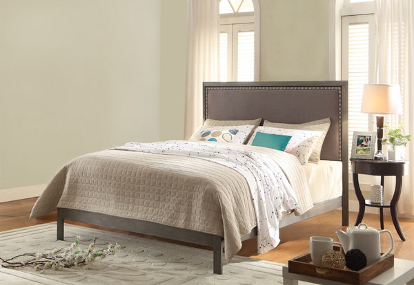 Normandy Upholstered Headboard or Complete Bed