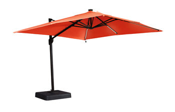 Oakengrove Outdoor Large Cantilever Umbrella - Orange