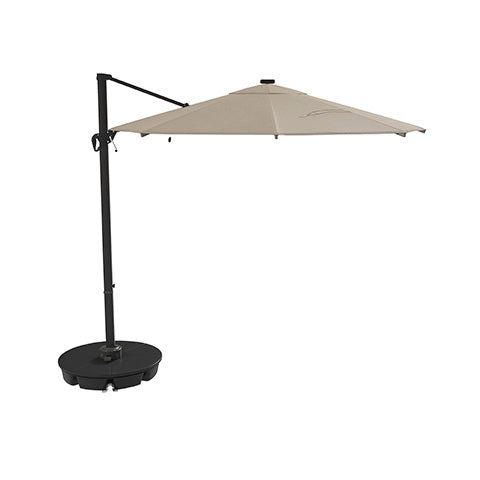 Oakengrove Outdoor Large Cantilever Umbrella - Beige