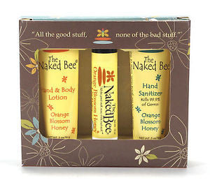 Naked Bee- Orange Blossom Honey Mini Bee Kit