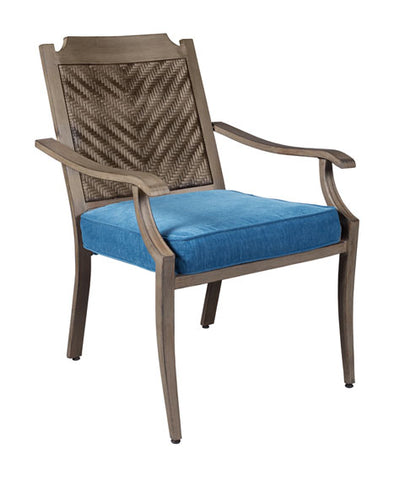 Partanna Outdoor Chair with Cushion - Set of 4