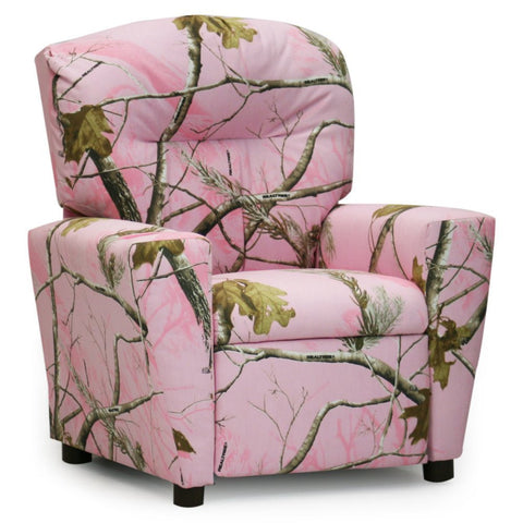 Realtree Pink Camo Kid's Recliner