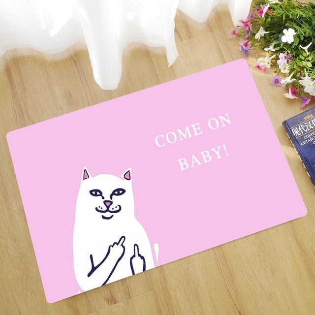 Cat Sayings Collection - Doormats - 8 Styles