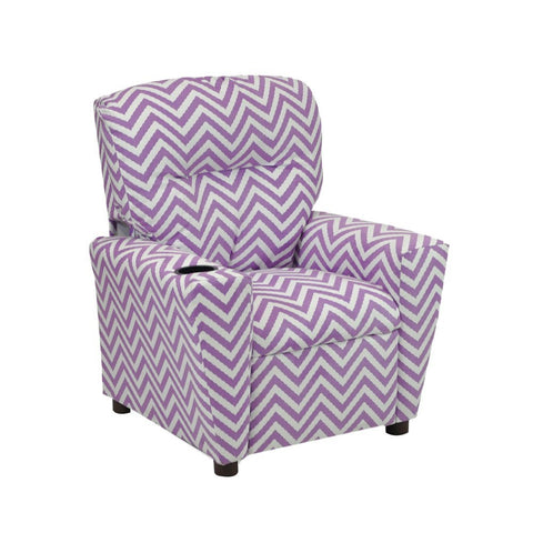 Purple Ziggi Kid's Recliner