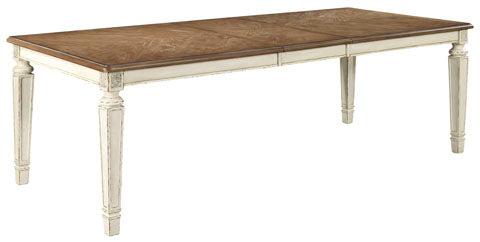 Realyn Rectangular Extendable Dining Table