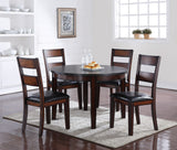 Rockport Collection // 5PC Round Dining in Standard Height