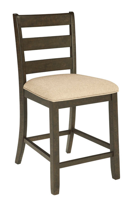 Rokane Bar Stool With Cushion - Set of 2