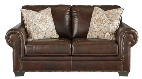 Roleson Loveseat - Genuine Leather