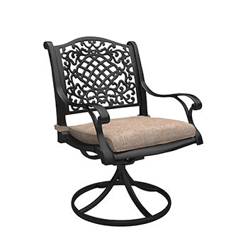 Rose View Outdoor Swivel Chair - Set of 2