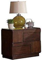 Gallagher - Nightstand - Golden Brown