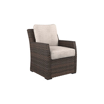 Salceda Outdoor Lounge Chair with Cushion