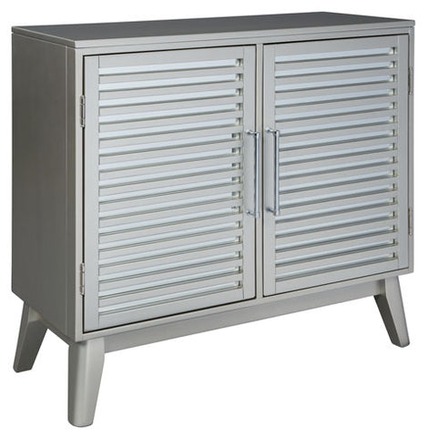Senzernell Metal Accent Cabinet