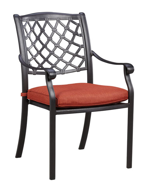 Tanglevale Outdoor Chair with Cushion - Set of 4