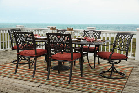 Tanglevale Outdoor Rectangular Dining Table