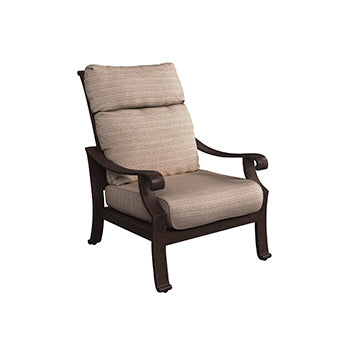 Chestnut Ridge Outdoor Lounge Chair with Cushion