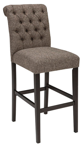 Tripton Bar Stool in 2 Heights - Set of 2 - Brown