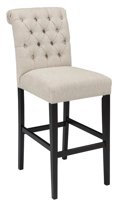Swell Tripton Bar Stool In 2 Heights White Ncnpc Chair Design For Home Ncnpcorg