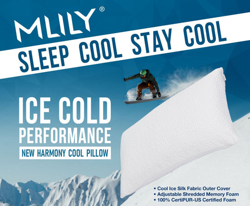 MLILY New Harmony Cool Pillow