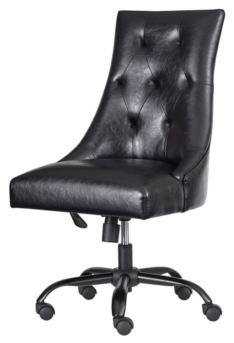 Home Office Upholstered Swivel Desk Chair