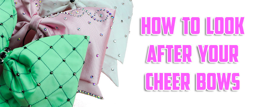 How to look after your cheer bows