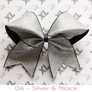 Glitter Cheer Bow - LittleCheerFactory