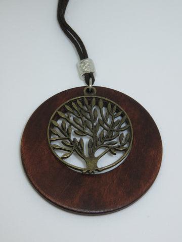 Tree of Life Wooden Pendant - Asharlah.com