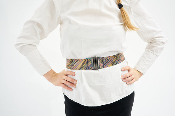 Elastic belt - Multi color & Metallic