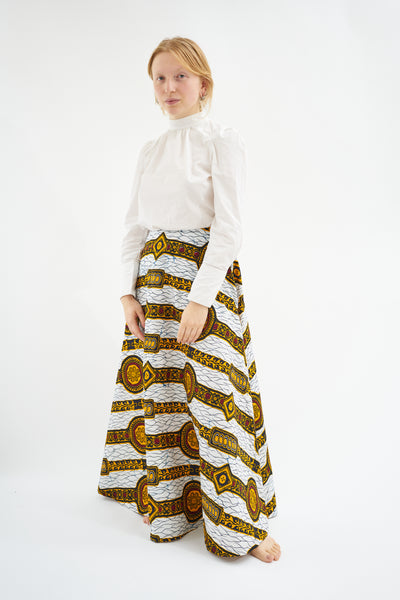 Regal circle skirt  - Holland wax
