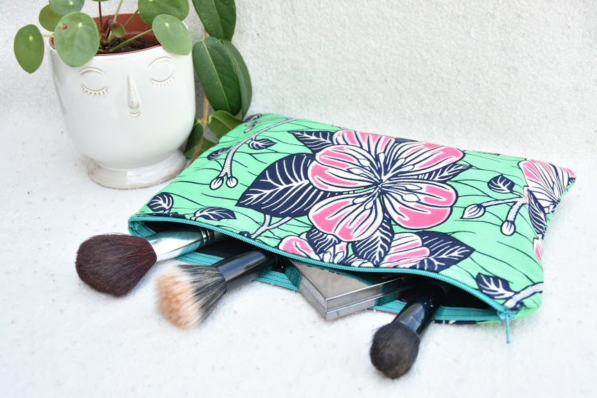 Travel make up bag - Holland wax