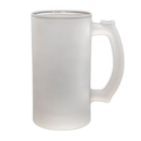 Frosted Glass Beer Stein