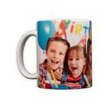White Ceramic Sublimation  Mug - 11oz  (325.31 ml)