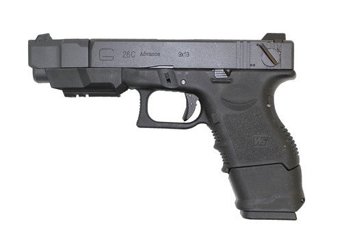 WE EU27 Black GBB Pistol - Airsoft Imports