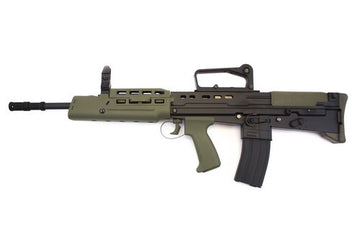 WE L85A2 GBB Rifle - Black