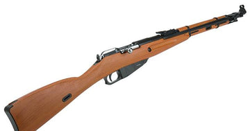 Gun Heaven Mosin-Nagant Co2 Bolt Action Rifle w/ Realistic Imitation Wood Furniture