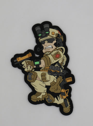 Limited Edition Hiwez DEVGRU 1st Edition PVC Patch - 100% Proceeds to charity