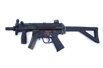 WE APACHE K PDW GBB RIFLE - BLACK