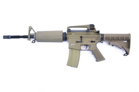 M4A1 CARBINE AEG RIFLE - BLACK / TAN - Airsoft Imports