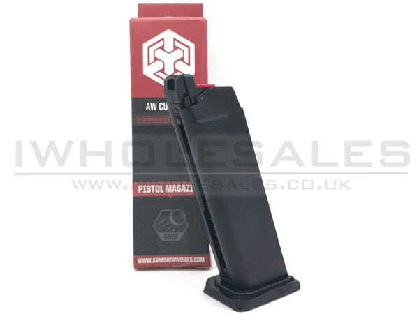 Armorer Works Custom Hex-Cut Gas Magazine (25rnd) - Airsoft Imports