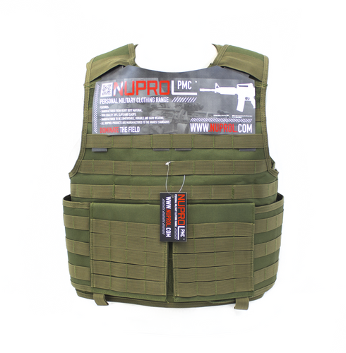 NP PMC PLATE CARRIER - GREEN - Airsoft Imports