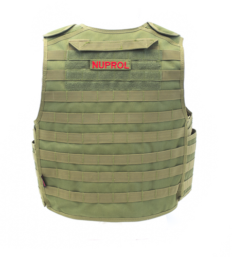 NUPROL PMC PLATE CARRIER - GREEN - Airsoft Imports