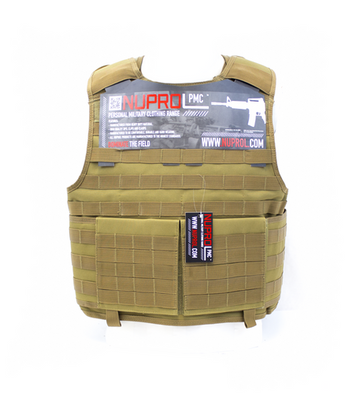 NUPROL PMC PLATE CARRIER - TAN