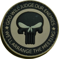 God Will Judge Rubber Patch - Airsoft Imports